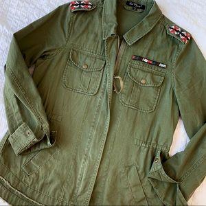 VELVET HEART Military Jacket
